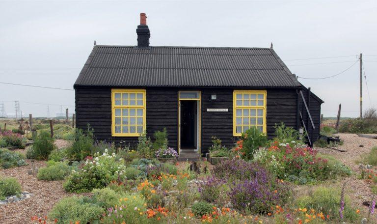 Prospect Cottage, Derek Jarman's home.in Dungeness